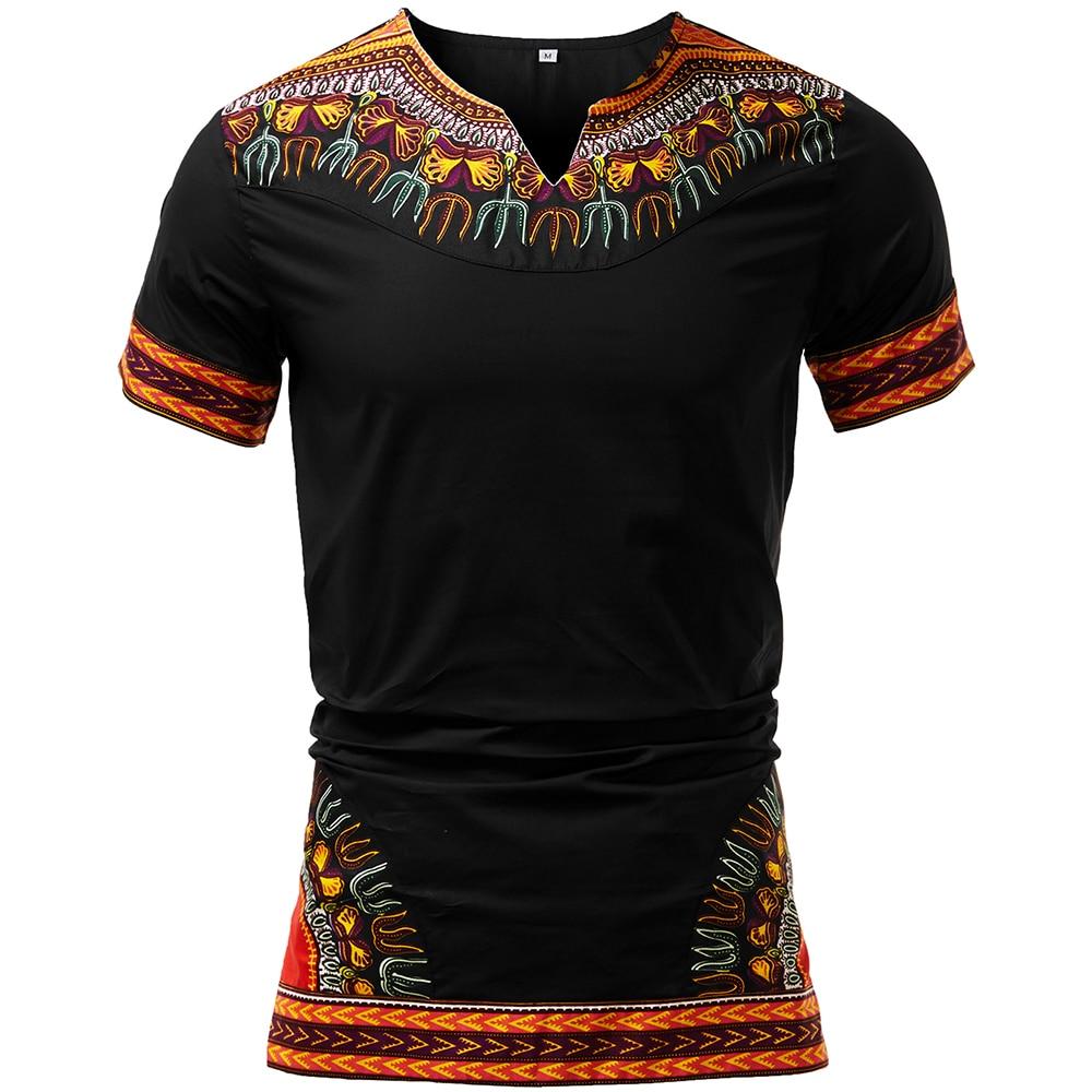 African Men Clothes Dashikishirt  Fashion Top Traditional Clothing African Men Dashiki Print Shirt Men Dashiki Clothes Plus Size
