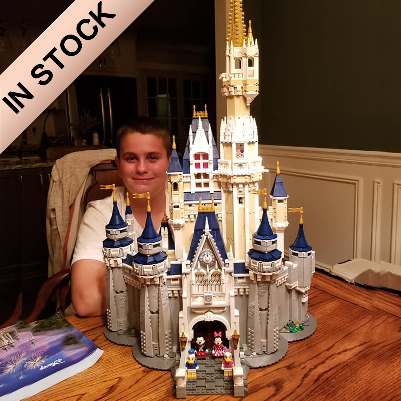 In Stock 16008 Creator The Princess Castle 71040 4080Pcs Street View Model Building Blocks Bricks Education 30010 83008 6005