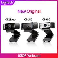 New Logitech Full HD C922 C920E C930C 1080P Webcam Autofocus Cam Widescreen Video Calling and Recording Suitable for computer