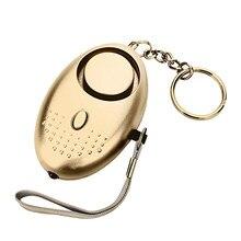 130db proteger alerta de defesa pessoal sirene anti-ataque de segurança para crianças menina mais velhas transportando alto alarme de pânico