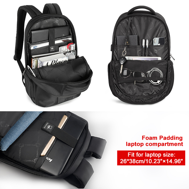 High Quality Anti-theft Splash proof 15.6 inch Laptop Backpack