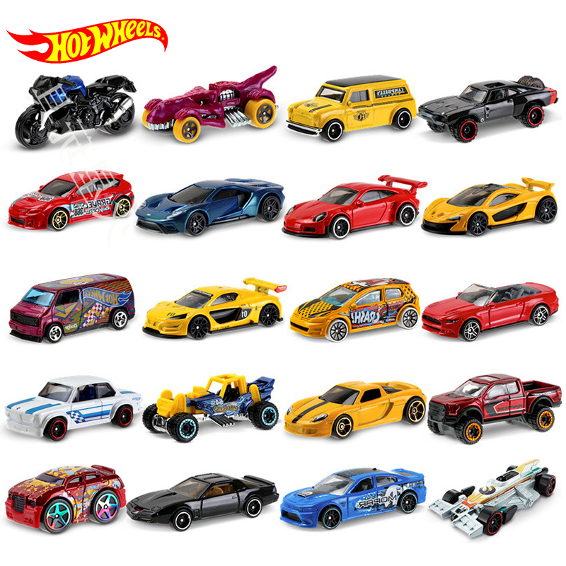 Hot Wheels 5pcs To 72pcs Car Toys For Boy Accessories Motorcycle Blind Box Model Brinquedos Hotwheels Children Birthday Kid Gift