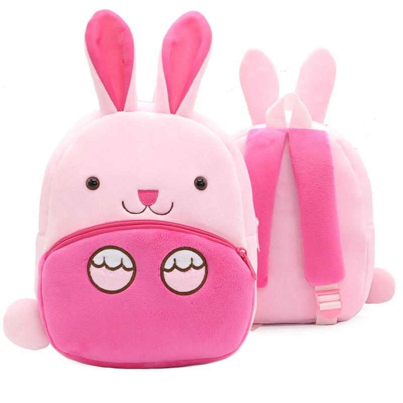 Cartoon 3D Rabbit Kids Backpack Boys Girls School Bags Kindergarten School bag