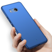 Original Case For HTC U11 U11+ Phone Case Luxury Matte Hard PC Cover On U11 PLUS Silicone Edge Anti-drop protection Cover(China)