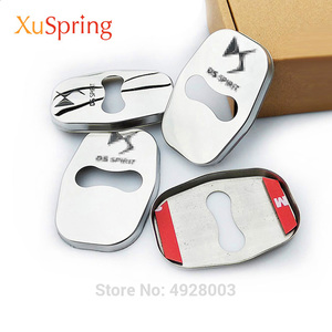 Image 1 - Car Door Lock Covers Protection Stainless Steel Styling Accessories For DS Spirit DS3 DS4 DS4S DS5 DS5LS DS6 DS7