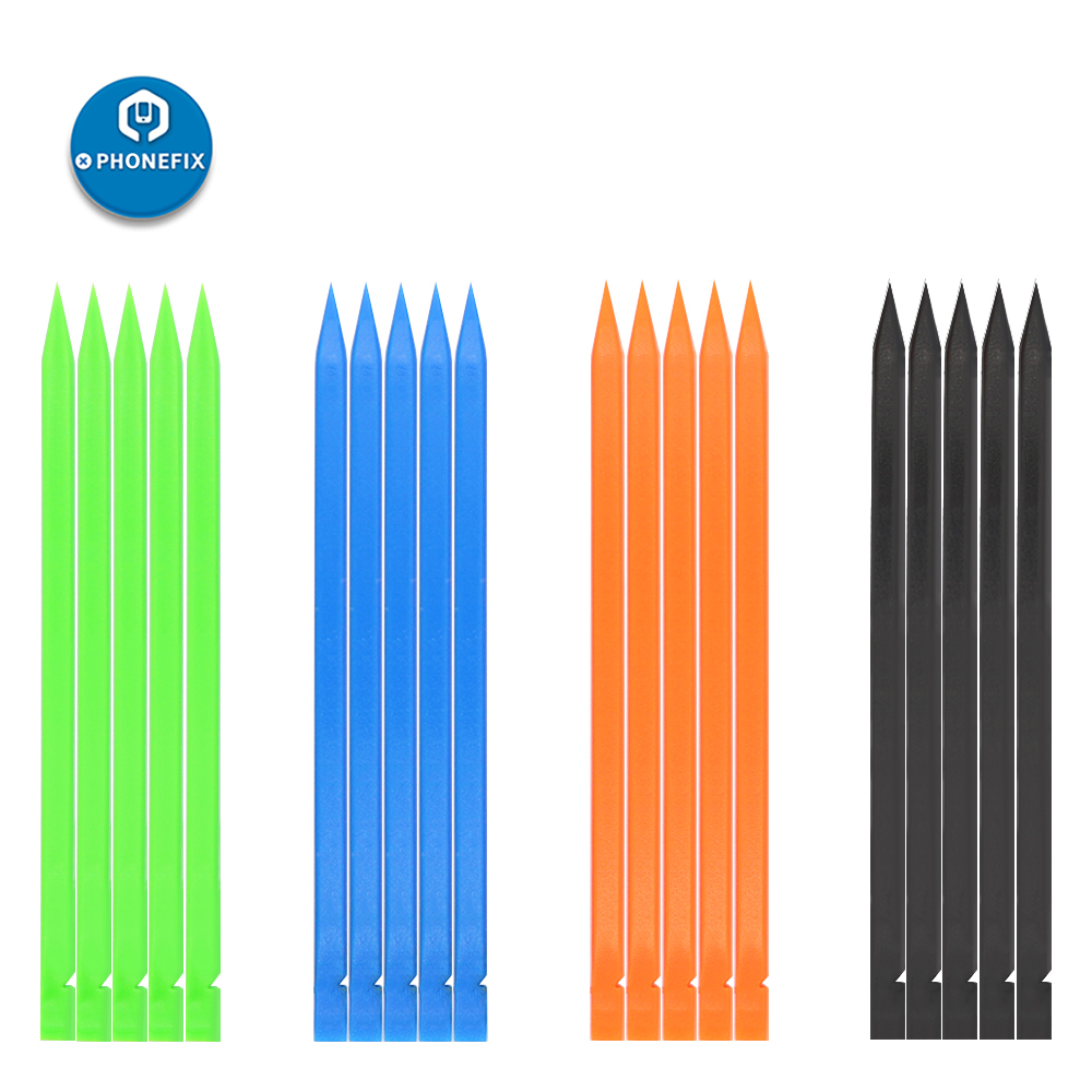 PHONEFIX 5pcs/lot Opening Pry Tools Nylon Plastic Spudger For IPhone For Samsung IPad Smartphone Laptops Disassembly Tools Set
