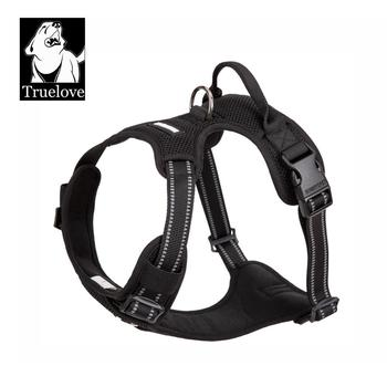 TRUELOVE Pet Harness Nylon Reflective Comfortable and Breathable Explosion-proof Small Medium Large Outdoor Camping HP5652