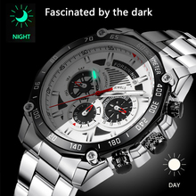 Forsining Military Silver Clock Steampunk Series Complete Calendar Men Sport Mechanical Automatic Watches Relogio masculino