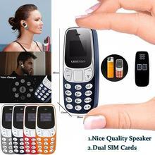 Mini polegar portátil micro telefone móvel sem fio gsm duplo sim bm70 multi-idioma pequenos telefones inteligentes discar chamadas de telefone