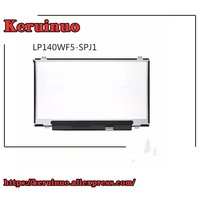 14'' FHD IPS TOUCH Screen LP140WF5 SPJ1 FOR DELL D/PN: 0 JTP6X with touch screen digitizer1920x1080 40 pins