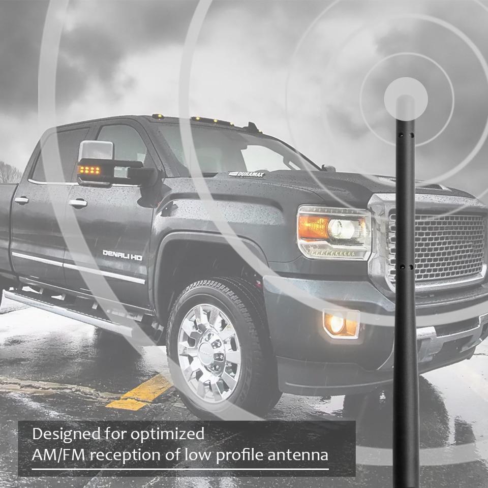 Gmc Sierra//Yukon//Denali OEM 2876544 22876545 22936386 - Antenna for 2007-2019 Chevy Silverado//Suburban 2-4 Days Copper Coil Antenna KSaAuto M7 Thread 13 Inches