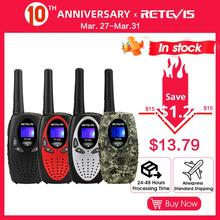 2pcs New Red Retevis RT628 Portable radio Walkie Talkie sets 0.5W 22CH UHF USA Frequency 462-467Mhz Two way radio A1026C