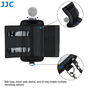 Image 5 - JJC Camera Holder Record Pouch for Zoom Records H6 H5 H4n H4n Pro Handy Video Digital Recorder Protector Accessories Soft Bag