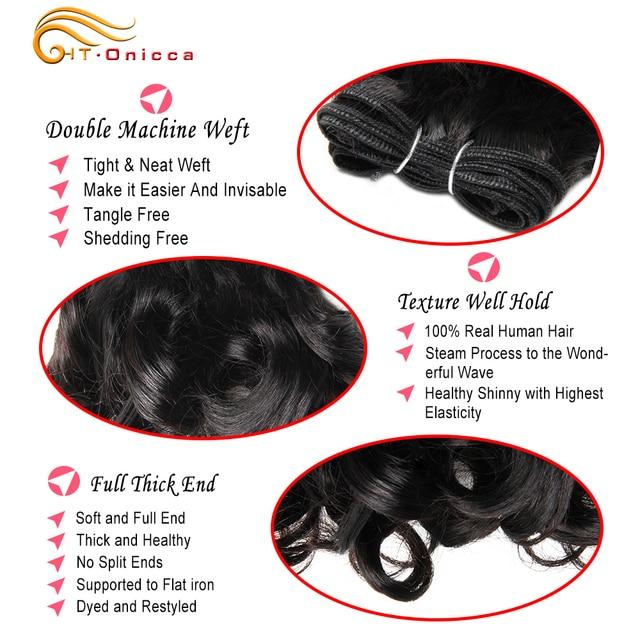 6 unids/lote extensiones de cabello humano rizado extensiones de pelo ondulado brasileño 8 pulgadas 1B #2 #4 30 99J Ombre extensiones de pelo corto