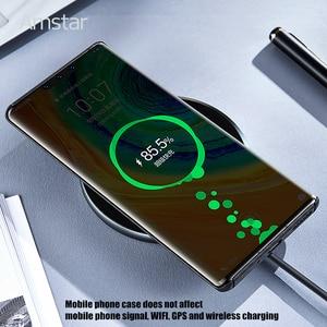 Чехол для телефона из настоящего углеродного волокна Amstar, Ультратонкий чехол из кевларового углеродного волокна для Huawei P40 30 20 Pro Mate30 20 Pro