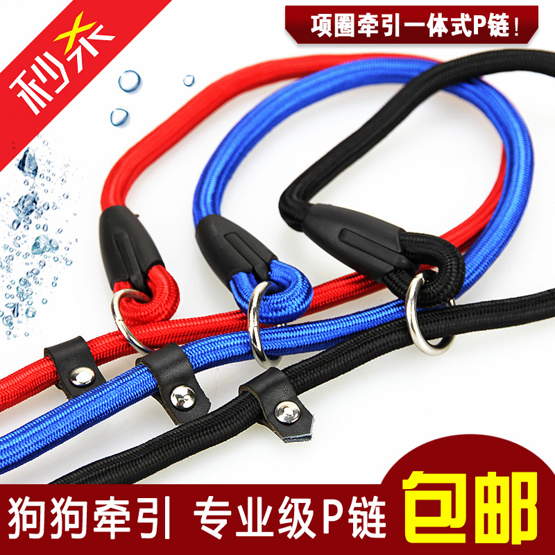A Large Amount Pet Collar Traction Rope Dog Traction Belt High Quality Faux Nylon P Pendant Low Price