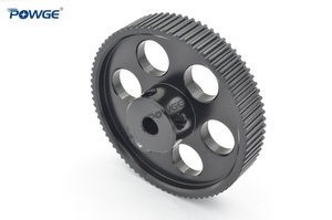 Image 4 - POWGE VORON DESIGN 80 Teeth 2MGT 2GT Timing Pulley Bore 5mm for GT2 2M Open Synchronous belt width 9/10mm 80Teeth 80T 3D printer