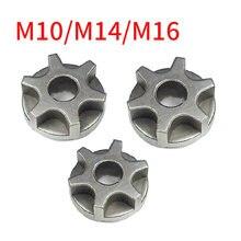 M10/m14/m16 Шестерня цепной пилы для 100 115 125 150 180 сменная