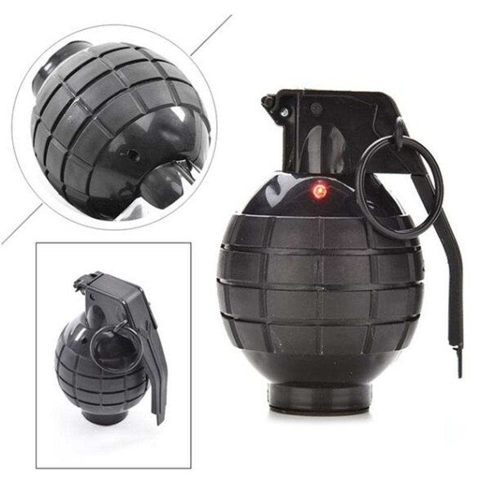 Durable Toy Hand Grenade Toy Ammo Game Bomb Launcher Blast Replica Military Pretend Toys For Kid
