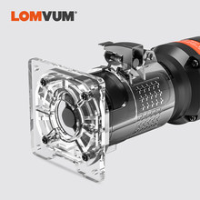 LOMVUM 470W Woodworking Electrict Trimmer 220V Wood Cutting Trimming Machine for Milling Engraving Slotting(China)
