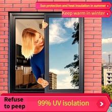 Window Film Glass Sticker Anti-ultraviolet ray Privacy Frosted Self Decorative Window Sticker Adhesive Film Window Decal film