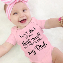 NewBorn Romper Baby Clothes Fashion Casual Letter Cotton O-n