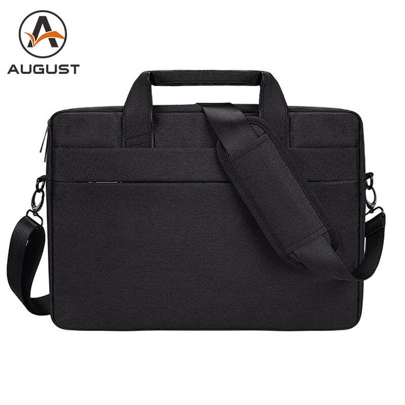 Business 13 14 15.6 Inch Laptop Briefcase Men Women Casual Computer Handbag Men's Document Tote Office Bag Laptop Shoulder Bag