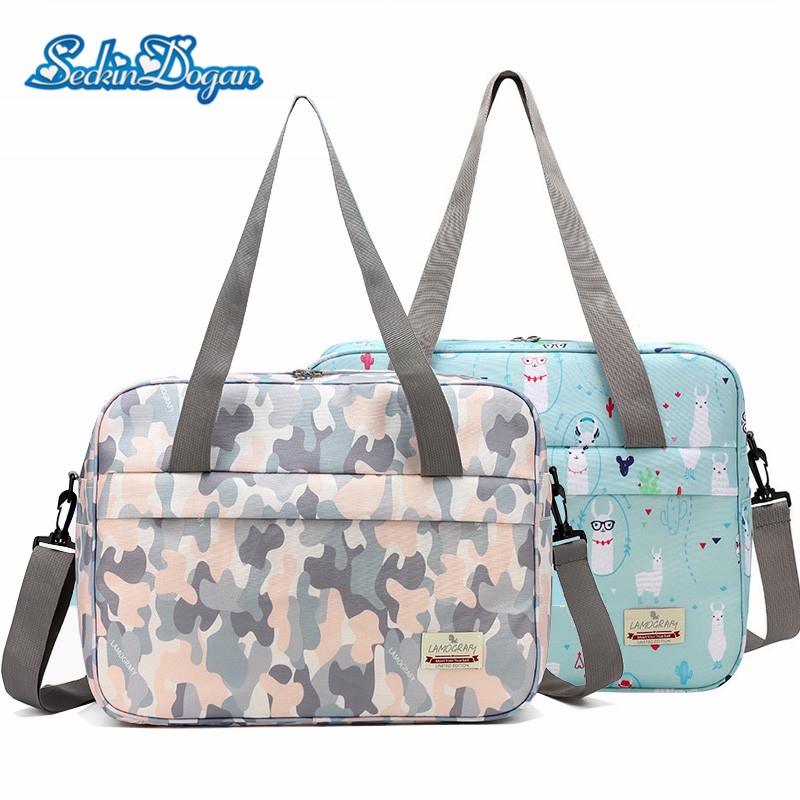 SeckinDogan Diaper Bag Waterproof Tote Baby Care Bags Large Capacity Mommy Crossbody Bag Baby Organizer Nappy Backapck