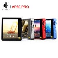 Hidizs AP80 PRO Hi-Res dual ESS9218P lettore musicale portatile Bluetooth MP3 USB DAC DSD64/128 apt-x/LDAC supporto contapassi FM