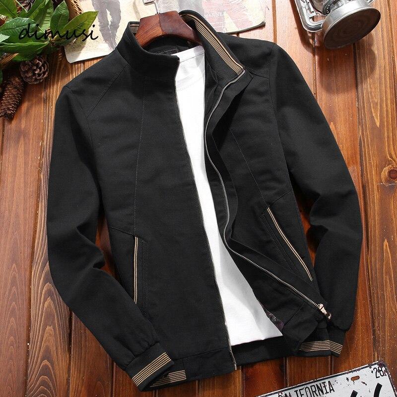 DIMUSI Winter Mens Bomber Jackets Man Casual Slim Fit Windbreaker Jacket Mens Clothing Army Tactical Military Baseball Jackets
