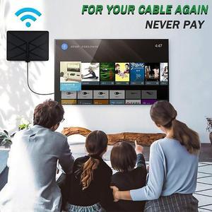 Image 2 - 960 Milesทีวีในร่มAmplifiedเสาอากาศดิจิตอลHDTV 4K HD DVB T Freeview TVสำหรับท้องถิ่นช่องBroadcastบ้านโทรทัศน์