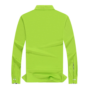 Image 2 - Plus ขนาดผู้หญิงเสื้อโปโลคุณภาพสูงผ้าฝ้ายแขนยาวเสื้อฤดูใบไม้ร่วงหญิง Breathable Sweatshirt กิจกรรมชุดการปรับแต่ง Plus ขนาดผู้หญิงเสื้อโปโลคุณภาพสูงผ้าฝ้ายแขนยาวเสื้อฤดูใบไม้ร่วงหญิง Breathable Sweatshirt กิจกรรมชุดการป