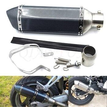 for 38-51mm Motorcycle Exhaust Muffler Pipe Scooter Dirt Pit Bike Tube for Honda VFR750/S VFR800/F VTR1000/F CBF1000 VF750/S