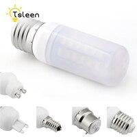 Tsleen-bombilla LED de mazorca de maíz, Ultra brillante, 5730 SMD, E27/E14/B22/GU10/G9, blanco lechoso cálido y frío, 7/9/12/15/20/25W, 10 Uds.
