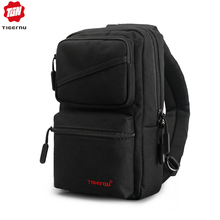 New Design Tigernu men Chest  Bag Brand Casual Chest Bag Splashproof Men Bag Messenger Bag Crossbody Sling Bag for ipad