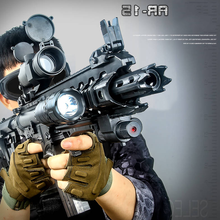 New Electric AR 15 Manual Kids Gun Toy Live Assault Sniper Airsoft Air Gun Weapon Outdoor Soft Water Bullet Gun Toys For Boys