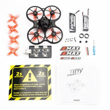 Emax 2S Tinyhawk S FPV Racing Drone Kit With Camera 0802 15500KV Brushless Motor Support 1/2S Battery RC Plane with gift