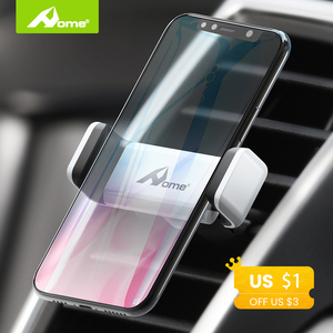 Universal Car Mobile Phone Holder Auto Air Vent Mount Stand for iPhone X Samsung 360 Rotation Car Smartphone Support