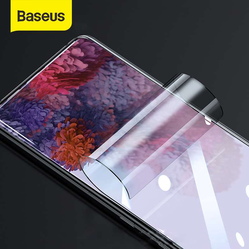 Baseus 0.15mm Protective Tempered Glass For Samsung Galaxy S20 S20 Plus S20 Ultra Screen Protector Glass Tempered Glass Film 2pc