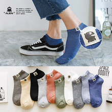купить 10pcs=5pairs/lot Ankle Socks Men Casual Socks Thin Breath Cotton Male Socks Sweat Uptake Socks Stink Prevention Hosiery ET Tag дешево