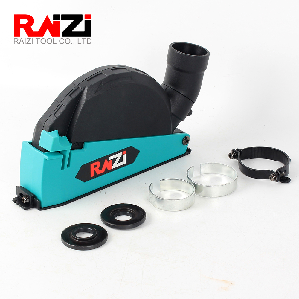 Raizi Cutting Dust Shroud For Angle Grinder 4 5 5 Inch Diamond Saw Blade Dust Collector Attachment Cover Tool