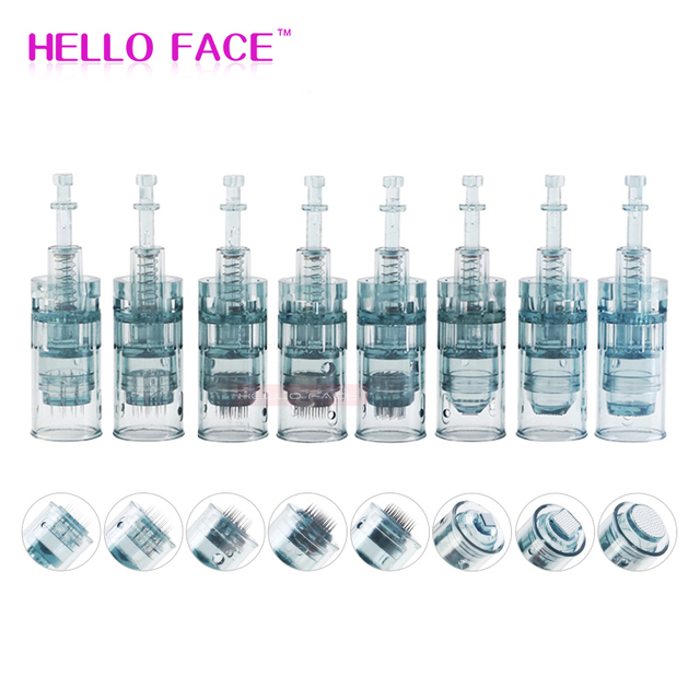 Dr. Pen M8 Needle Cartridges Electric Derma Pen Bayonet Cartridges 11 16 36 42 Tattoo Needle Micro Skin Needling Tip Derma Stamp