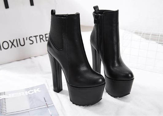 designer heeled ankle boots