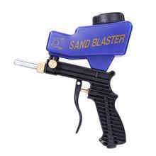 Nozzle Spray-Gun Pneumatic-Tool Gravity Blasting-Flow Adjustable Mini