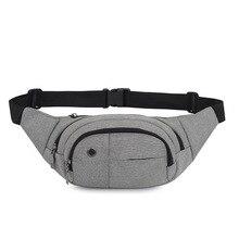 Горячая Распродажа Recom Мужская Проводная Весенняя новая стильная многофункциональная модная повседневная спортивная мужская Мобильная сумка на пояс для телефона