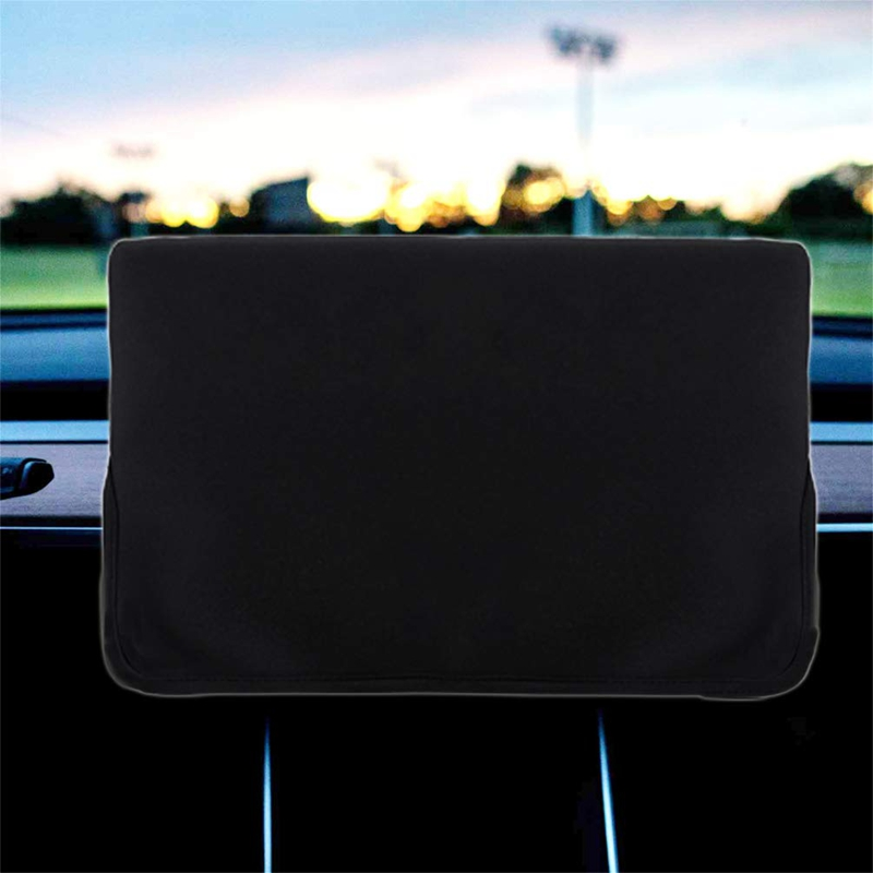 Screen Protection Cover, Center Console Display Sleeve Protector For Tesla Model 3 Sunshade And Screen Protection Center Console