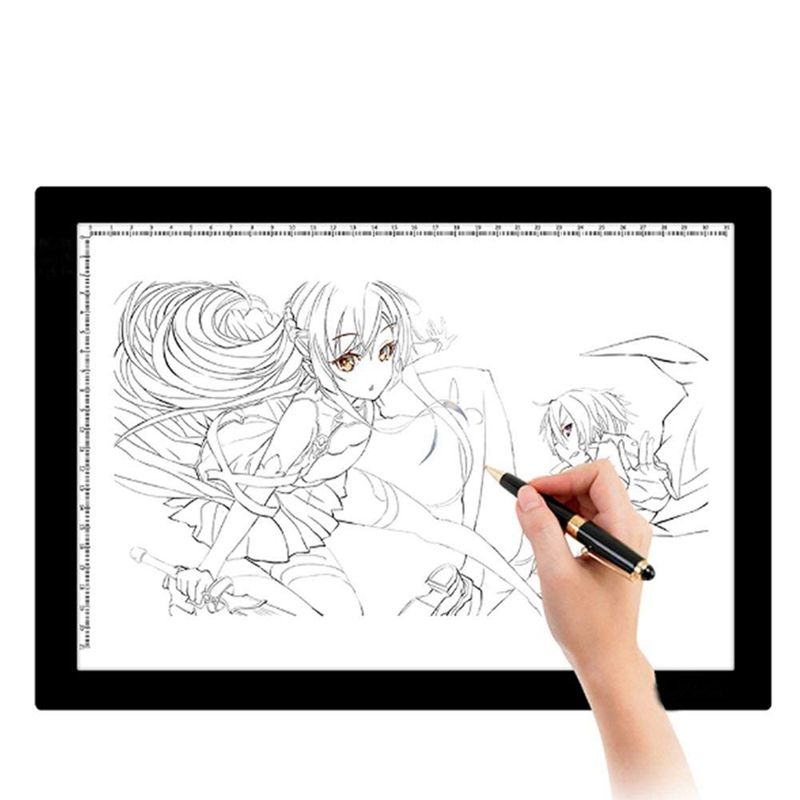 A4 Light Box LED Touching Modern Illumination Ultra-Slim Art Craft Design Photo Tracing Design Lightbox Light Pad