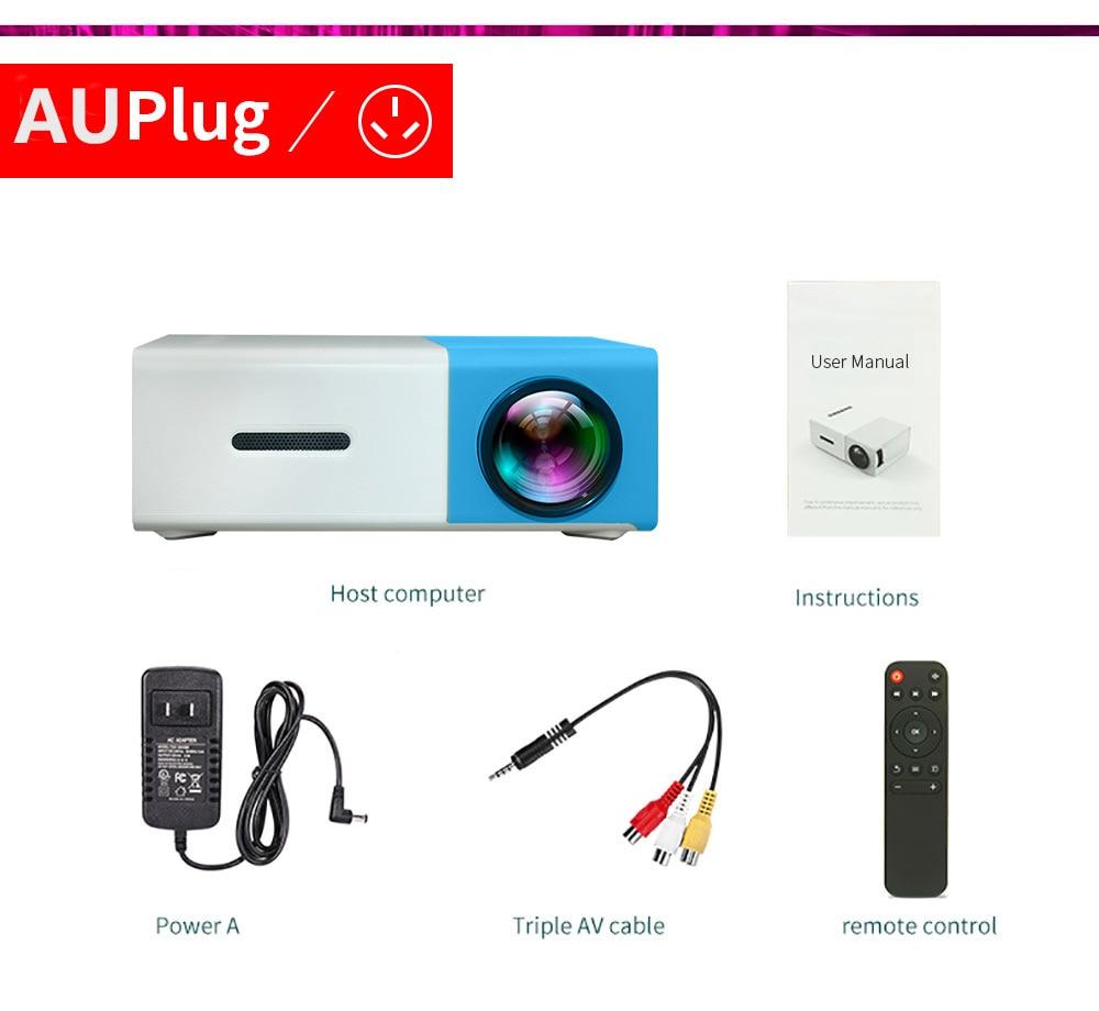 Blue AU Plug