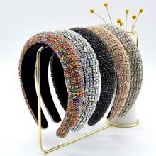 Ins/модный свитер в стиле барокко Стиль женские Стразы и повязка