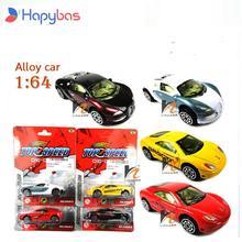 Классические игрушки! Спортивный автомобиль 1:64, модель игрушечного автомобиля из сплава, скользящий автомобиль, случайный выбор для ребенк...